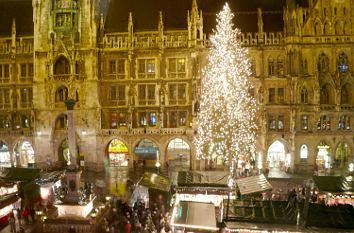 Marienplatz Weihnachtsmarkt.Quermania Christkindlmarkt München Weihnachstmarkt In Der