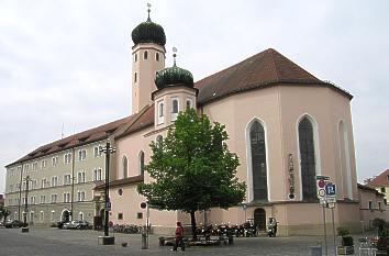 Quermania Straubing Niederbayern Jesuitenkirche Auf