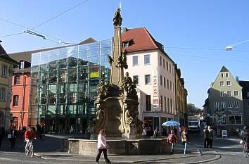 quermania w rzburg vierr hrenbrunnen am grafeneckart sehensw rdigkeiten und bilder. Black Bedroom Furniture Sets. Home Design Ideas