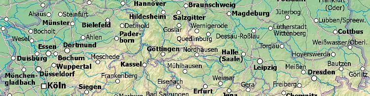 Umkreissuche Karte Deutschland
