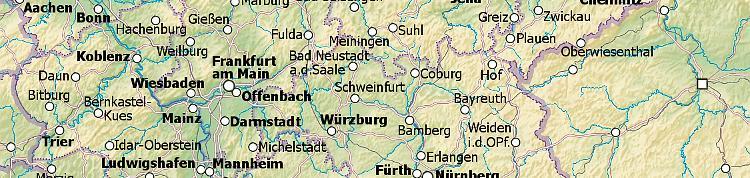 Quermania Umkreissuche Landkarte Deutschland Deutschlandkarte