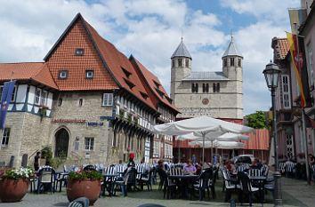 quermania bad gandersheim roswithastadt mit romanischer stiftskirche und sehenswerten. Black Bedroom Furniture Sets. Home Design Ideas