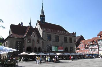 Quermania marktplatz mit rathaus g ttingen for Hotels in gottingen und umgebung