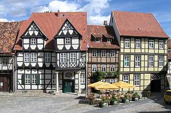 Schlossplatz in Quedlinburg