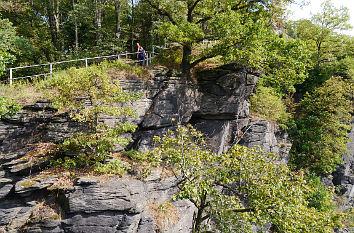 Klettersteig Wolkenstein : Quermania wolfsschlucht am schloss wolkenstein klettersteig