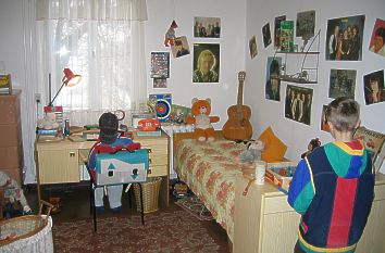 DDR-Museum: Kinderzimmer