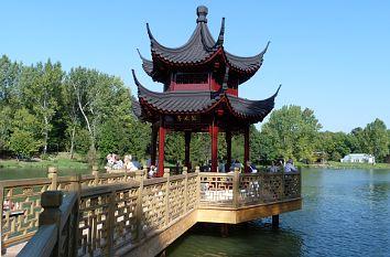Quermania Weißensee Chinesischer Garten Thüringen Urlaub